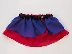 Girls Snow Princess Ballet Skirt  Ice Queen by MissLottiesBoutique