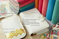 New Webster Pages planner kits! Could be used for journaling.