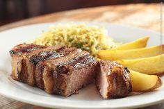Dibaco restaurante carnes e vinhos (jantar)    Bife chorizo  Corte alto de contra-file