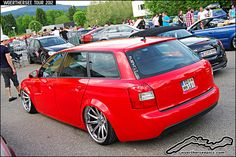 Red Audi A4 Wagon | Flickr - Photo Sharing!
