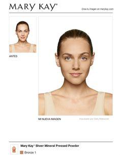Acabo de obtener un nuevo look estupendo usando el makeover virtual Mary Kay® GRATIS. ¡Pruébalo tú misma y luego compártelo con tus amigas!