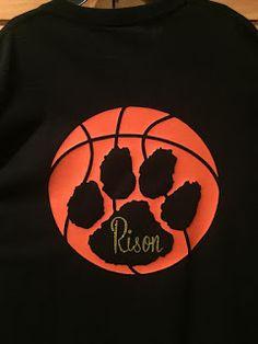 Personalized basketball shirt