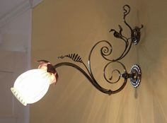 Stunning light fixture in one of the upstairs bedrooms