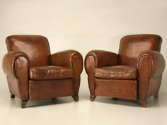 Leather Club Chair...Comfort
