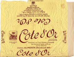 Cote d'Or Belgian chocolate