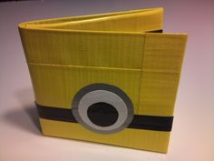 Despicable Me Duct Tape Wallet. $10.00, via Etsy.