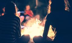 Image result for people around a campfire