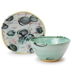Sean O'Connell - Soup Bowl and Plate Set