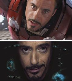 Iron Man, how can his face get any cuter?