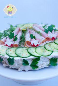 tort kanapkowy Food And Drink, Kitchen, Cooking, Kitchens, Cuisine, Cucina