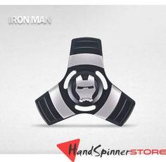 Iron Man Metal Tri-Spinner Fidget Spinner