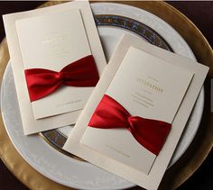 Red Wedding Invitation Printable Customized by MyUniqueWedding, $96.00
