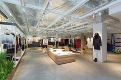 Although highly successful in Japan for many years and with a vast retail network across the archipelago, Agnès B.