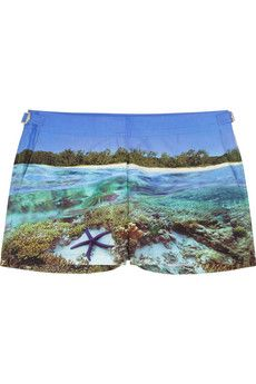 Orlebar Brown Whippet printed woven boardshorts | NET-A-PORTER