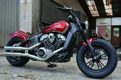 """Indian Motorcycle on Twitter: """"Custom mods in all the right places. #ProjectScout"""