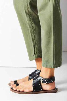 Matiko Studded Toe Hold Sandal