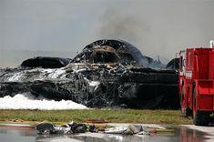 B-2 Stealth Bomber Crash Scene Photos: Guam