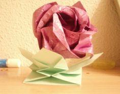 Flor papiroflexia