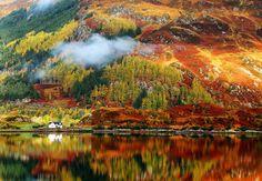 Toamna in imagini superbe: Cele mai frumoase peisaje de toamna: Culorile pamantului pe ape