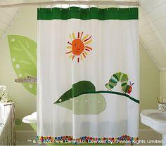 The Very Hungry Caterpillar™ Shower Curtain #pbkids