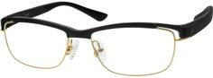 Order online, unisex black full rim mixed materials browline eyeglass frames model #677821. Visit Zenni Optical today to browse our collection of glasses and sunglasses.