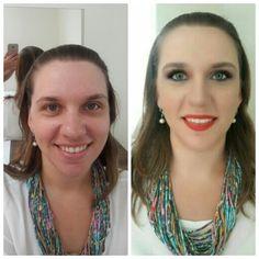 Hoje foi dia de Automaquiagem para a minha cliente linda e sua irmã a Ju. O melhor de tudo a Carol foi minha noiva há  um ano e meio! Agradeço  a Deus por construir e nutrir um relacionamento excelente com minhas clientes! GRATIDÃO suas lindas foi ótimo estar com vocês #automaquiagem #cursosjacquelinefraga #make #makeup #maquiagem #jacquelinefragamakeup #jacquelinefraga