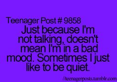 no kidding. as in MOST of the time. and when I'm not smiling, IT'S NOT BECAUSE I'M LONELY OR DEPRESSED. MAYBE MY FACE IS TIRED. xD