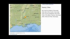 Mississippi Earthquake M2.5 Jackson Volcano