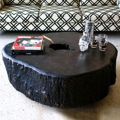 1000 images about tree trunk tables on pinterest tree trunk table tree trunks and stump table. Black Bedroom Furniture Sets. Home Design Ideas