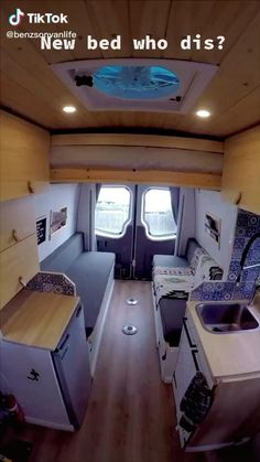 Interior Trailer, Camper Interior Design, Campervan Interior, Diy Interior, Volkswagen Bus Interior, Campervan Bed, Motorhome Interior, Bathroom Interior, Teardrop Camper Interior