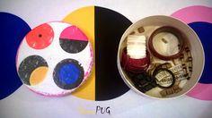 DecuPUG: #10 Łubiankowe pudełko w ikeowe grochy