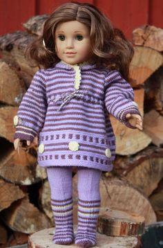 $7.65 Modell 0042 MONA KRISTIN - pattern for American Girl doll.