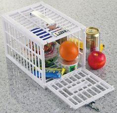 The Fridge Locker that can protect tasty morsels from food thieves is a good addition to any kitchen.