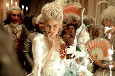 If I could jump back in history I would love to roam the world of Maire Antoinette. This film was brilliant. Cakes, clothes, hair...shoes...Everything one could want. Makes me love the garden section of London Museum even more.