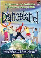 Danceland CD:Fun Songs and Activities to Improve Sensory Skills by two physical therapists, Kristen Fitz Taylor and Cheryl McDonald and musical host, Aubrey lande, MS, OTR/L. READ review >>