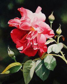 "Contemporary Realism- ""Queen of Garden""- Jacqueline Gnott"