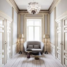 @SoudaBrooklyn / meandmybentley: Hidden within an old mansion, practically neighbours to the Copenhagen residence of the Danish Royal family, lies the ultra chic offices of the Kopenhagen Fur and...