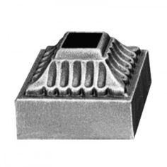 """2"""" Square Cast Iron Shoe by Grande Forge"""