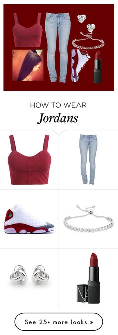 """Untitled #180"" by xxbeautiful-zoiexx on Polyvore featuring Ksubi, NIKE, Georgini and NARS Cosmetics"