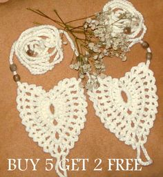 Cream Crochet Sandals Cotton Crochet by RuveydaSweetDreams on Etsy