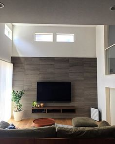 Media Wall, Living Room Designs, Kitchen Cabinets, Room Decor, Interior Design, Bedroom, Houses, Spaces, Live