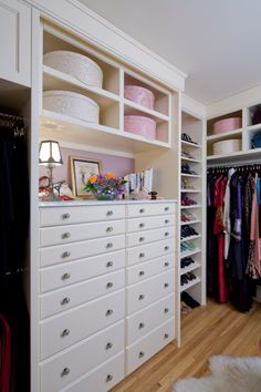 dressing room / #cabinetry #cabinets #White