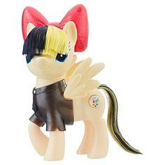 Nouveau My Little Pony Crystal Sparkle Mini Collection 10 paillettes Figurine Pack RARE