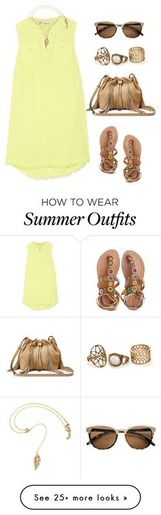 """""""casual day"""" by mindy-2-1 on Polyvore featuring Diane Von Furstenberg, Splendid and Laidback London"""