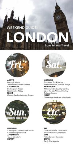 How to See Sprawling London in a Weekend – Comment voir Londres tentaculaire en un week-end – de semaine Travel List, Travel Goals, Travel Advice, Travel Guides, Food Travel, Sightseeing London, London Travel, Places To Travel, Travel Destinations