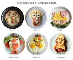 Healthy and cute breakfasts!
