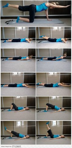 Chcesz wzmocnić plecy? Ćwicz w domu! Yoga Fitness, Health Fitness, Excercise, Back Pain, Face And Body, Good To Know, Zumba, At Home Workouts, Pilates