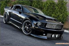 2008 Black Chrome Mustang GT | Flickr - Photo Sharing!