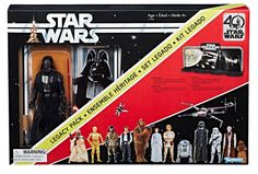 Star Wars 40th Anniversary Black Series Figures Are Super Nostalgic