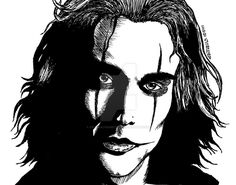 Image uploaded by Alexandra. Find images and videos about the crow on We Heart It - the app to get lost in what you love. The Crow, Brandon Lee, Bruce Lee, Crows Drawing, Crow Movie, Crow Art, Cinema Posters, Perler Bead Art, Batman Art